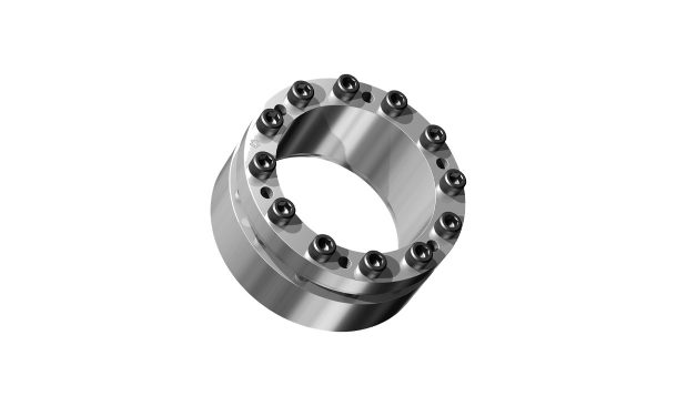 self-centering clamping set without axial displacement